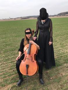 Renata Drössler natáčení videoklipu Lori.jpg