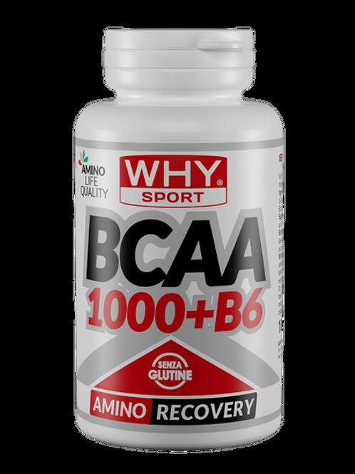 BCAA 1000 + vitamina b6  - 100 cps