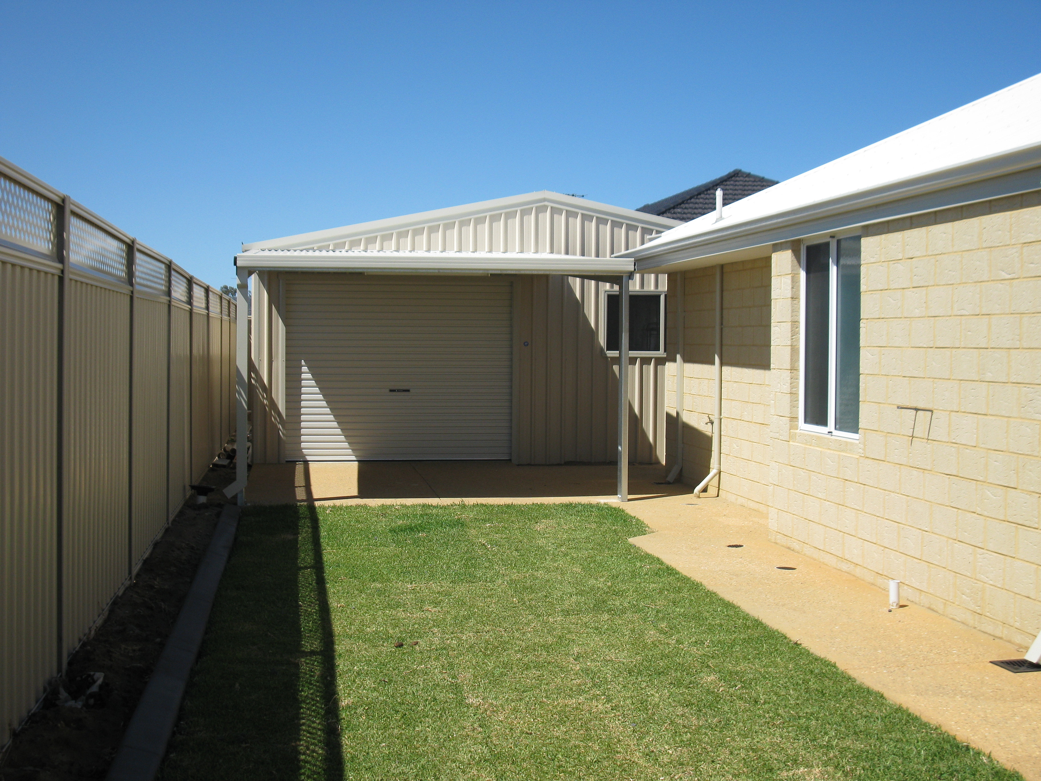 Perth Sheds Western Sheds Amp Garages Garage With Lean To