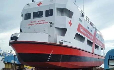 """A satisfação do Santo Padre com o """"Barco Hospital Papa Francisco"""""""