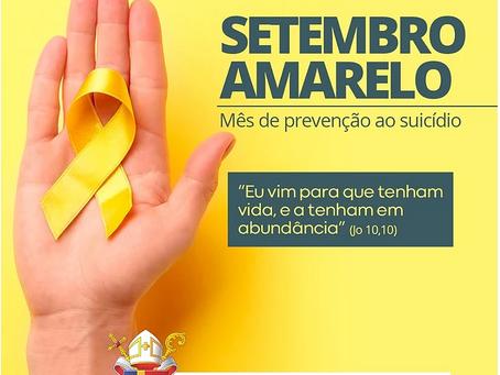 Setembro amarelo: 10 de Setembro é o Dia D de Prevenção ao Suicídio