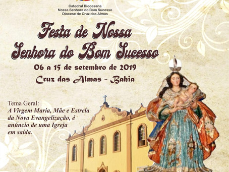 Convite - Festa de N. S. do Bom Sucesso 2019