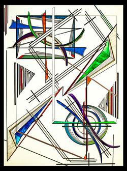 "Abstract Joy 18x24"""