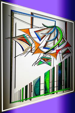Abstract Grass / Digital