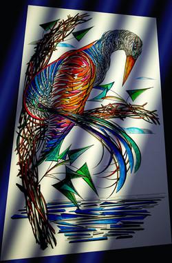 Watchful Bird / Digital