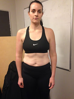 Front - Before Image of 12 week weight loss success story