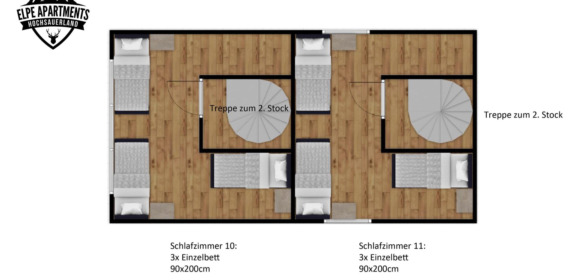 Plattegrond 3e etage
