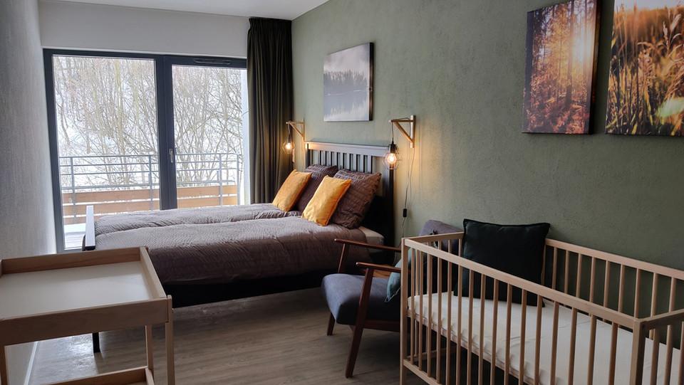 Ouder-kind slaapkamer