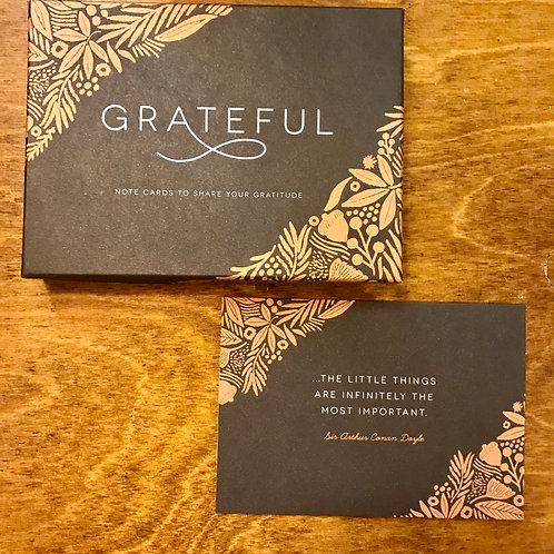 Grateful, Boxed Notecards