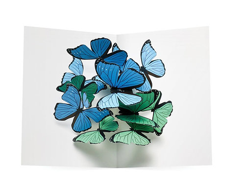 Beautiful Butterflies, Pop Up Notecards