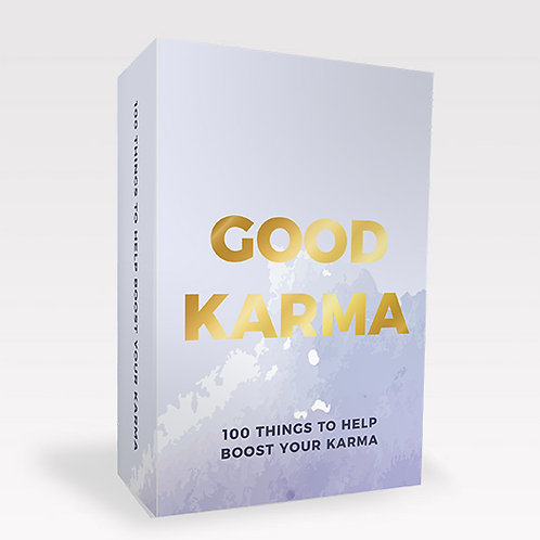 Good Karma Cards, set of 100