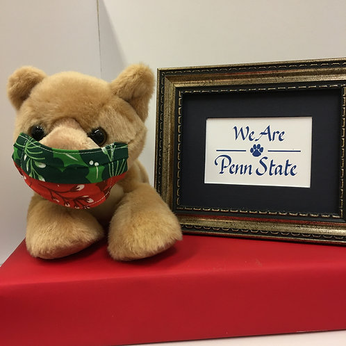 Holiday Lion with Tabletop Framed