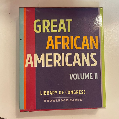 Knowledge Cards, Great African Americans