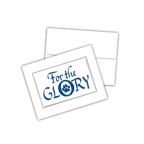 """For the Glory"" Penn State Notecards"