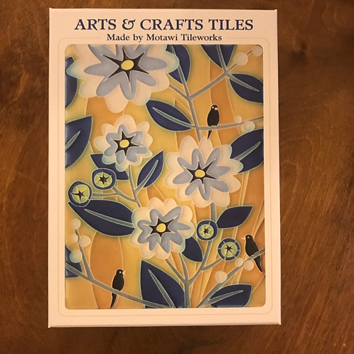 Arts & Crafts Tiles Boxed Notecards