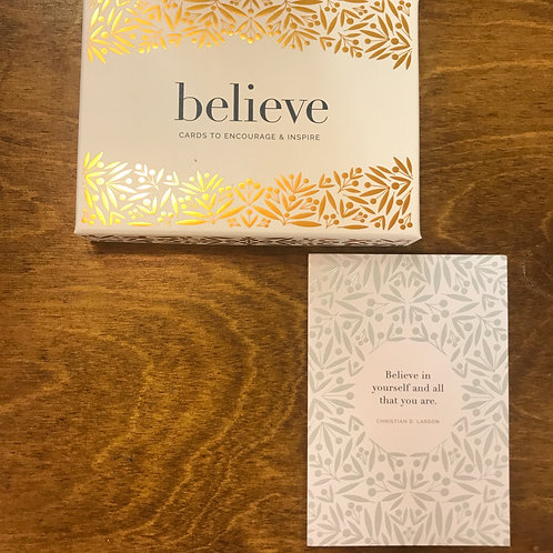Believe, Boxed Notecards