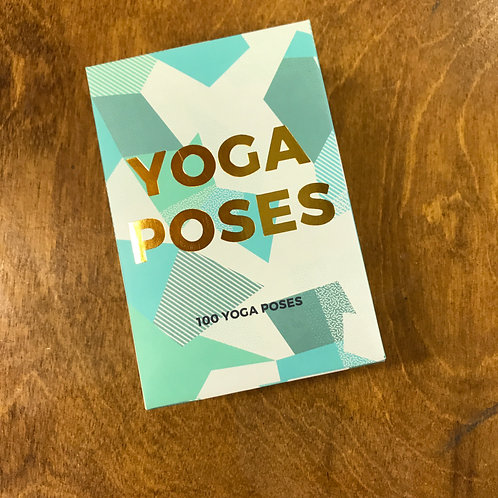 Yoga Cards, 100 Poses