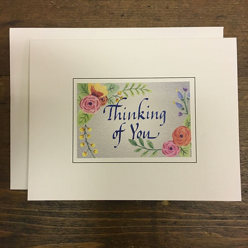 Garden Party Thinking of You Notecard