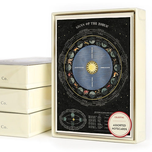 Cavallini & Co. Celestial Boxed Notecards