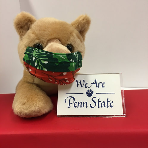 Holiday Lion with Magnet Quote