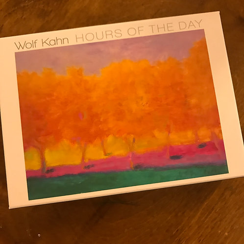 Hours of the Day Boxed Notecard Set by Wolf Kahn