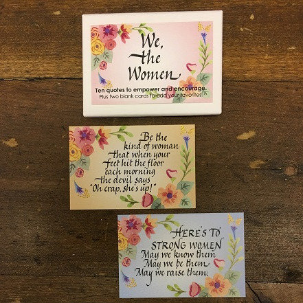 We, the Women Enclosure Cards