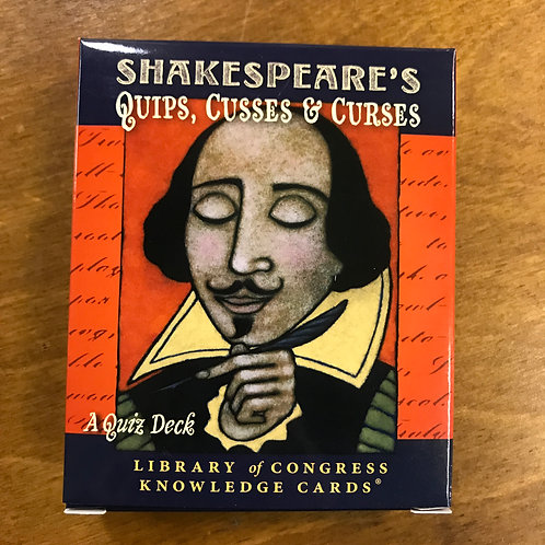 Knowledge Cards, Shakespeare's Quips, Cusses & Curses