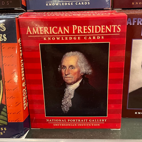 Knowledge Cards, American Presidents