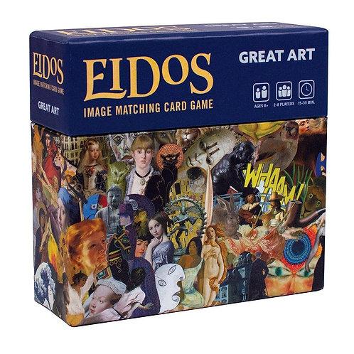 Eidos Image Matching Card Game, Great Art