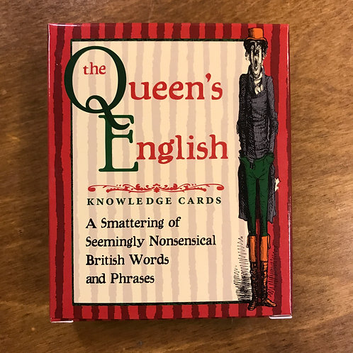 Knowledge Cards, The Queen's English