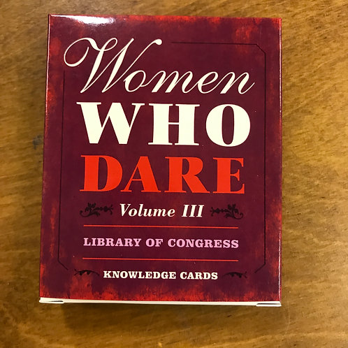 Knowledge Cards, Women Who Dare