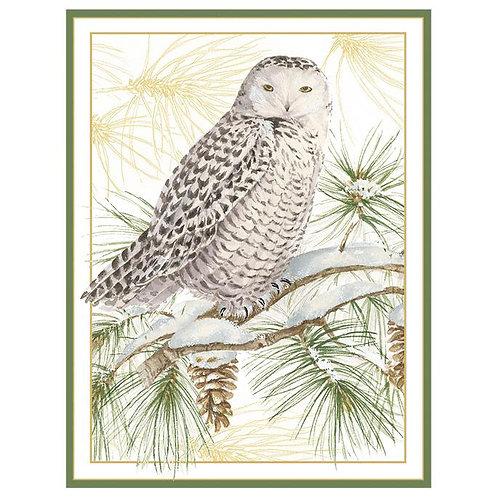 Snowy Owl Christmas