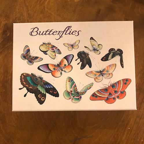 Butterflies Boxed Notecard Assortment