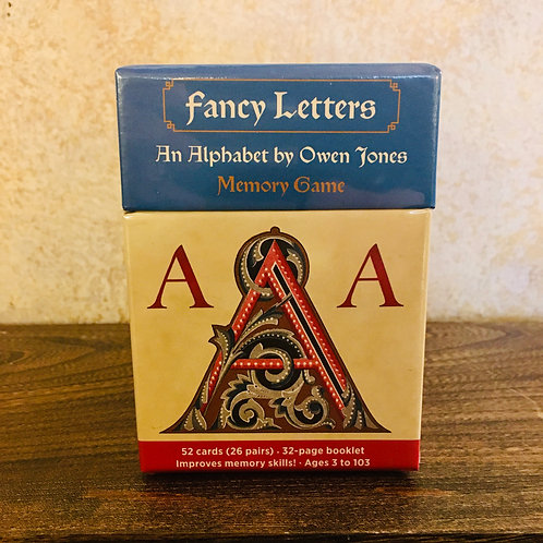 Fancy Letters Memory Game