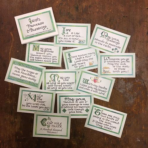 Luck of the Irish Enclosure Cards