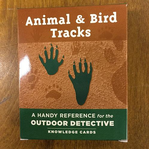 Knowledge Cards, Animal & Bird Tracks