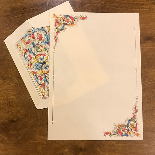 Florentia Sheets and Envelopes Portfolio