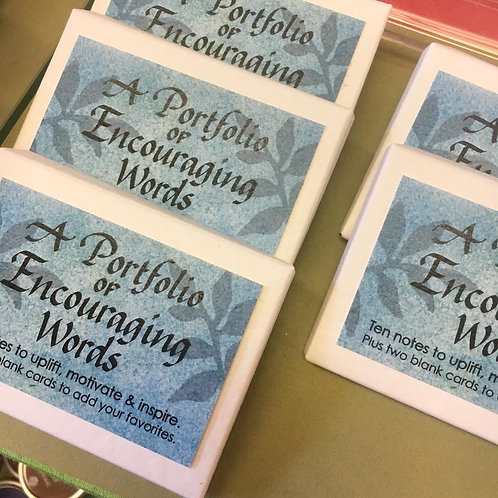 Encouraging Words Enclosure Cards
