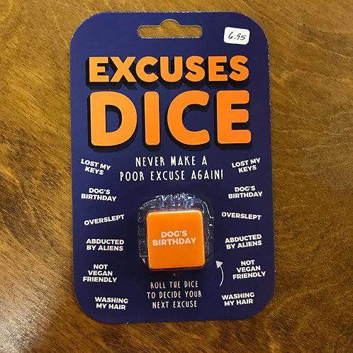 Excuses Dice