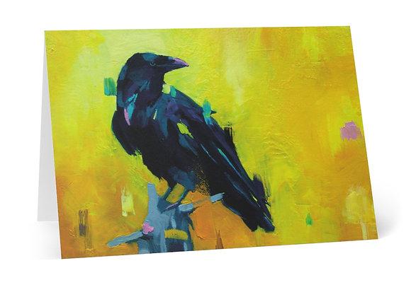 Raven cards (8pcs)