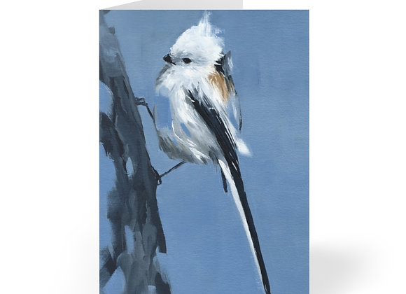 Long-tailed Tit Cards (8 pcs)