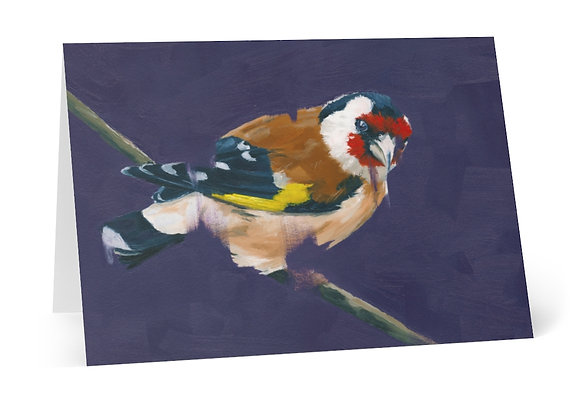 Goldfinch Cards (8pcs)
