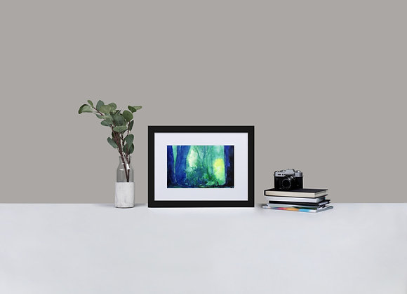 The Forest of Dreams Framed Print with Mount