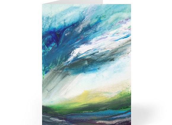 Highland Rain Cards (8 pcs)