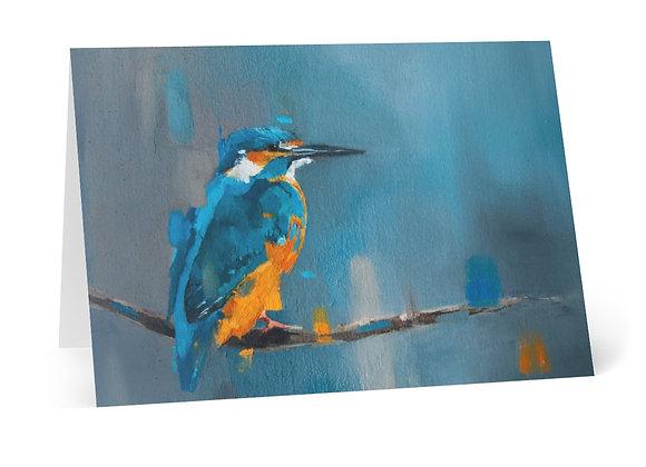 Kingfisher Cards (8 pcs)