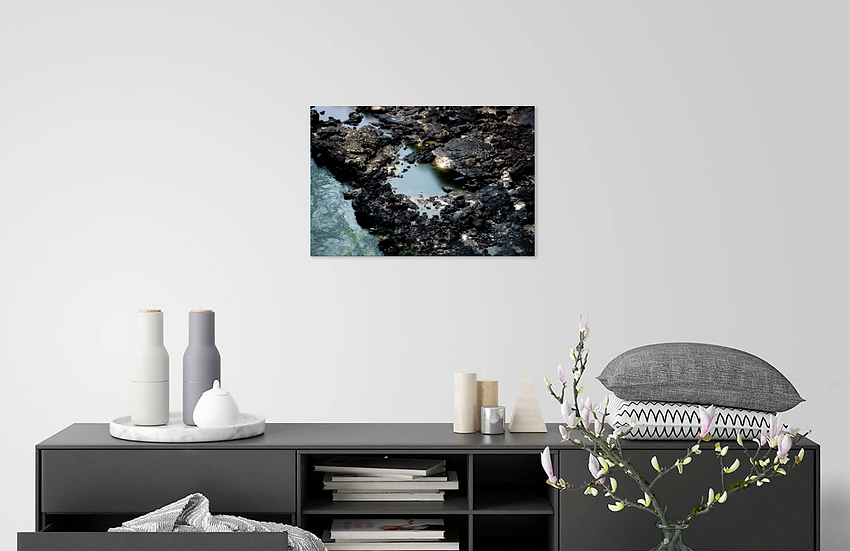 Zambezi River Rocks Print
