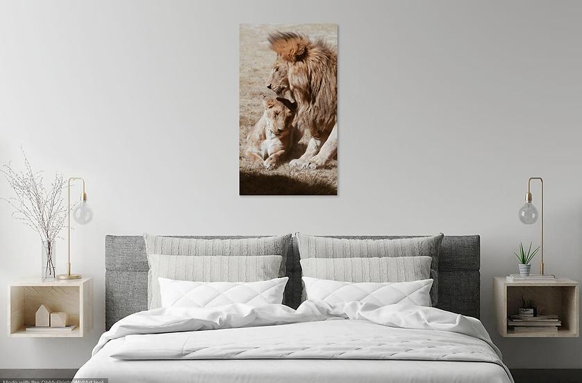 """Love"" - Lion Print"