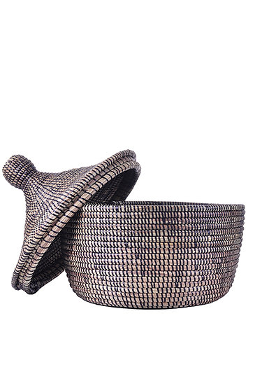 Black Storage Basket [Senegal]
