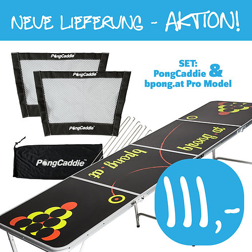 SET - PongCaddie & bpong.at Pro Model