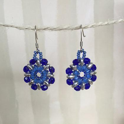 Blue Blossom Earrings